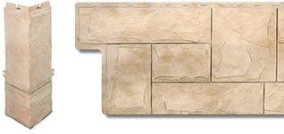 Фасадная панель Гранит и комплектующий угол