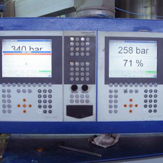 Фотография оборудования на производстве сайдинга компании Альта-Профиль Украина