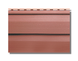 акриловый сайдинг канада красно-коричневый