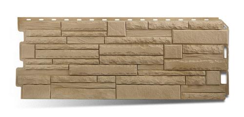Фасадная панель скалистый камень Анды Альта-Профиль