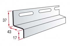 Hinged strip