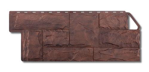 Цокольный сайдинг под камень Гранит Балканский Альта-Профиль