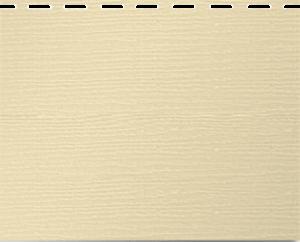 Вспененный кремовый сайдинг Альта Борд