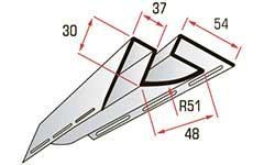 Планка сайдинга внутренний угол