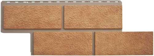 Фасадные панели Панель камень Неаполитанский Бежевый