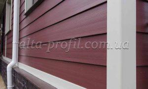 Обшивка фасада вспененным сайдингом Alta-board от Альта-Профиль