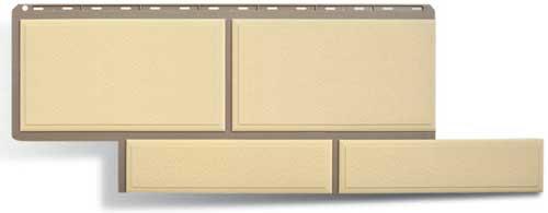 фасадная панель камень флорентийский желтый