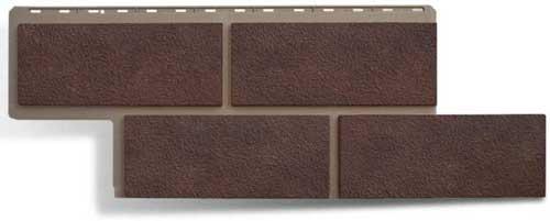 Фасадные панели Панель камень Неаполитанский Коричневый