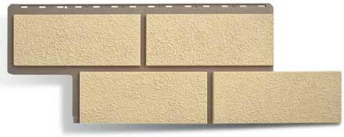 Фасадные панели Панель камень Неаполитанский Слоновая кость