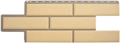 фасадная панель камень веницианский песок