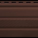 Софит коричневый перфорированный, фото