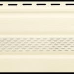 кремовая подшивка крыши
