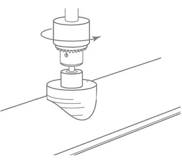 водосточной воронки монтаж