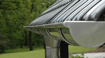 водосточная система пвх -металл
