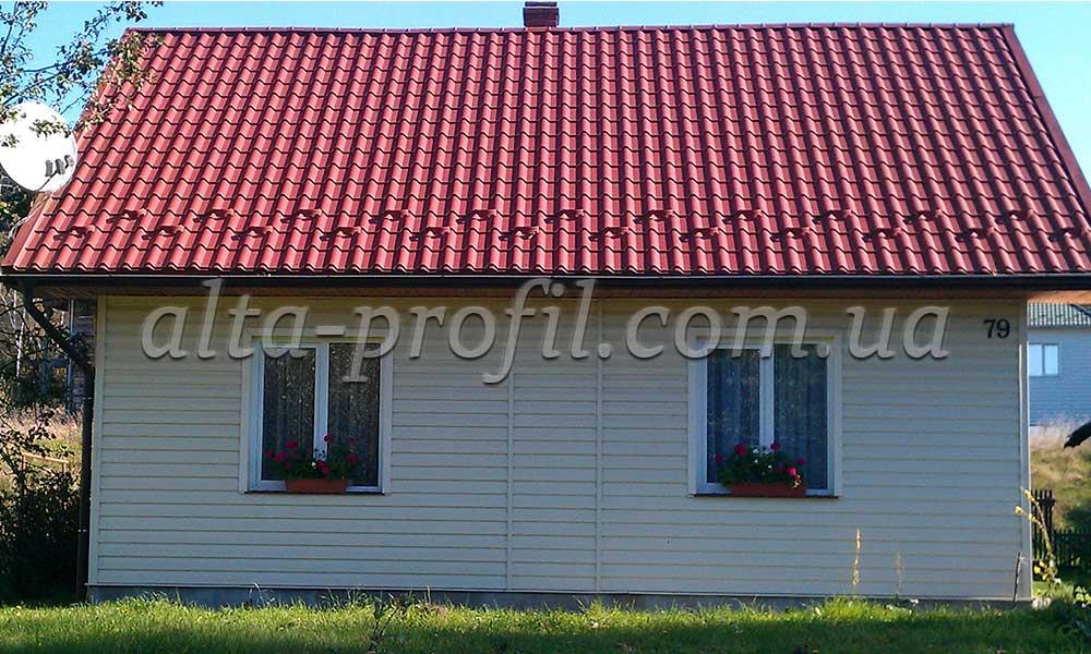 Фото дома с сайдингом виниловым, Alta-Siding