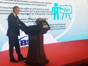 Выступление генерального директора Альта-Профиль в Украина на форуме зарубежных инвестиций в Пекине 2017