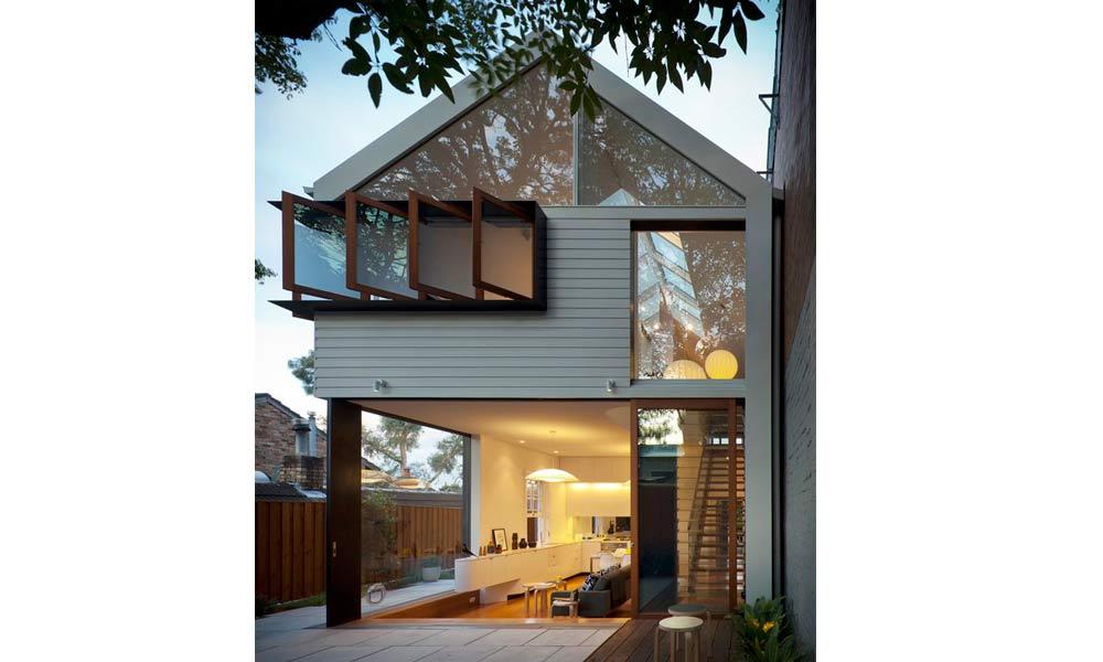 фото дома модерн с сайдингом