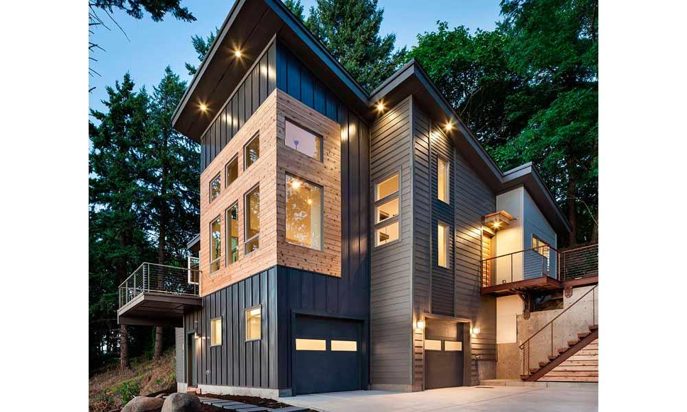 дом модерн с айдингом альта, фото