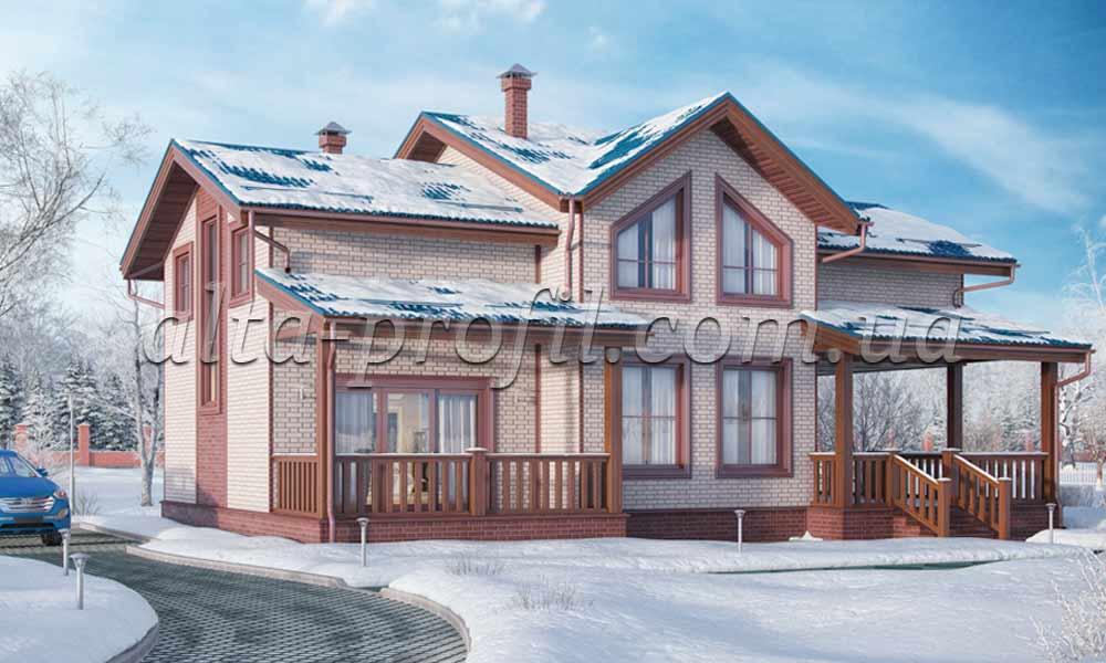 кирпич белый от альта профиль, фото дома с цокольным сайдингом под кирпич