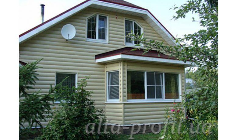 Виниловый блок хаус альта профиль