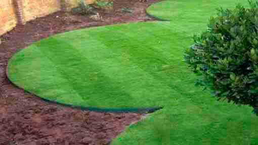 Бордюрная лента для газона: как выбрать, способы применения