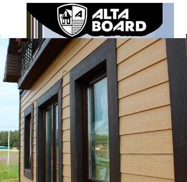Alta board siding