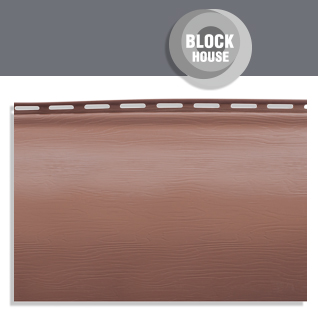 (English) block-house siding