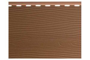 Сайдинг вспененный Альта Борд Элит BC-01 светло-коричневый 3000х180 мм