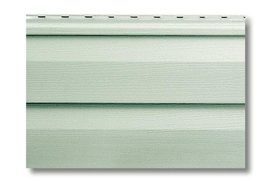 Сайдинг Alta-Siding Сіро-Зелений вініловий, двопереломний, 3660х230х1,1 мм