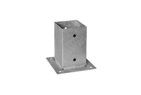 Алюмінієва кріпильна основа для стовпа 110 см