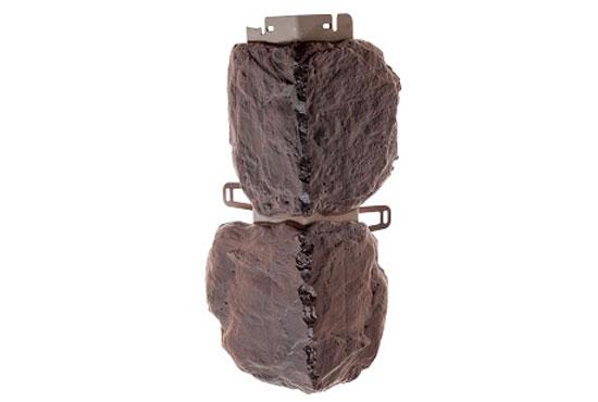 Зовнішній кут Бутовий камінь Датський Альта-Профіль, 0,472х0,112мм