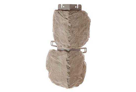 Зовнішній кут Бутовий камінь Нормандський Альта-Профіль, 0,472х0,112мм