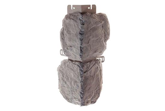 Зовнішній кут Бутовий камінь Скандинавський Альта-Профіль, 0,472х0,112мм