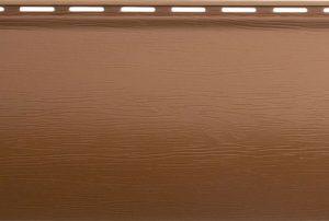 Сайдинг акриловый Альта-Профиль BlockHouse ВН-01 однопереломный 3100х200 мм дуб светлый