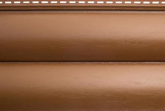 Сайдинг BlockHouse ВН-03 Дуб світлий двопереломний, 3100х200 мм