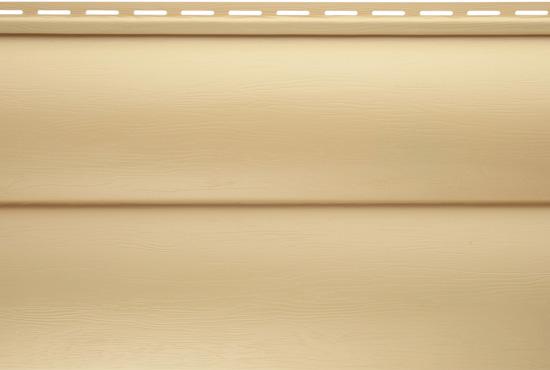 Сайдинг BlockHouse ВН-03 золотистий двопереломний, 3100х320 мм