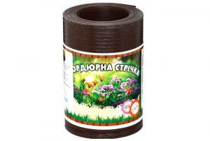 Бордюрная лента садовая Альта-Профиль без перфорации 0,65х150х9000 мм коричневый
