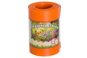 Бордюрная лента садовая Альта-Профиль без перфорации 0,65х150х9000 мм оранжевая