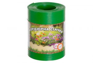 Бордюрная лента садовая Альта-Профиль без перфорации 0,65х150х9000 мм салатовая