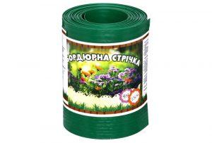Бордюрная лента садовая Альта-Профиль без перфорации 0,65х150х9000 мм зеленый