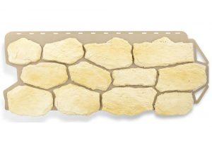 Бутовый камень Балтийский, Фасадная панель