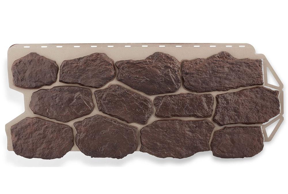 Бутовий камінь Данський, Фасадна панель