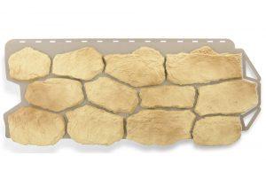 Фасадная панель Альта-Профиль Бутовый камень 1130х470х2,7 мм Греческий