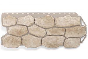 Фасадная панель Альта-Профиль Бутовый камень 1130х470х2,7 мм Нормандский