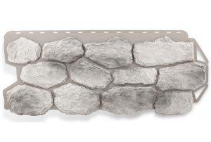Фасадная панель Альта-Профиль Бутовый камень 1130х470х2,7 мм Скандинавский