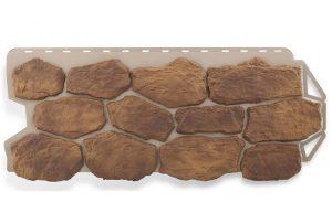 Бутовый камень Скифский, Фасадная панель, 1130х470х2,7мм