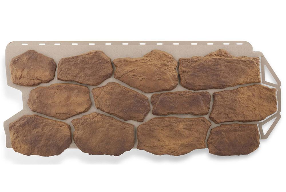 Бутовий камінь Скіфський, Фасадная панель, 1130х470х2,7мм