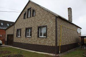 Фасадная панель Бутовій камень Нормандский Альта-Профиль