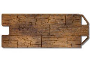 Фасадная панель Альта-Профиль Каньон 1160х450х2 мм Канзас
