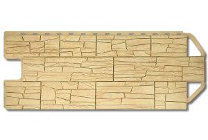 Фасадная панель Альта-Профиль Каньон 1160х450х2 мм Монтана